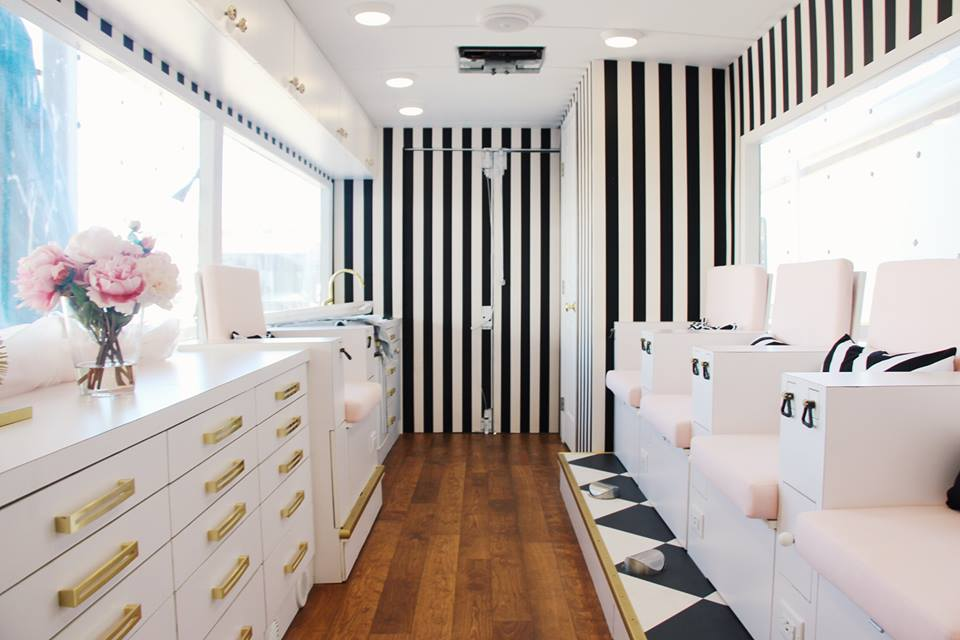 Colvon Mobile Nail Salon A On Wheels Launches In La This Month
