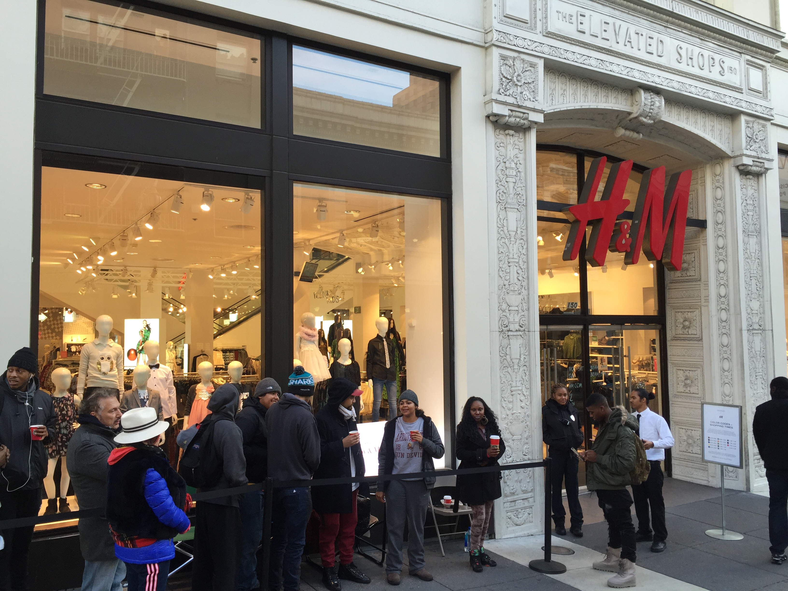 Balmain x H&M: Live Updates from the Launch in San Francisco (We're In Line Right Now)