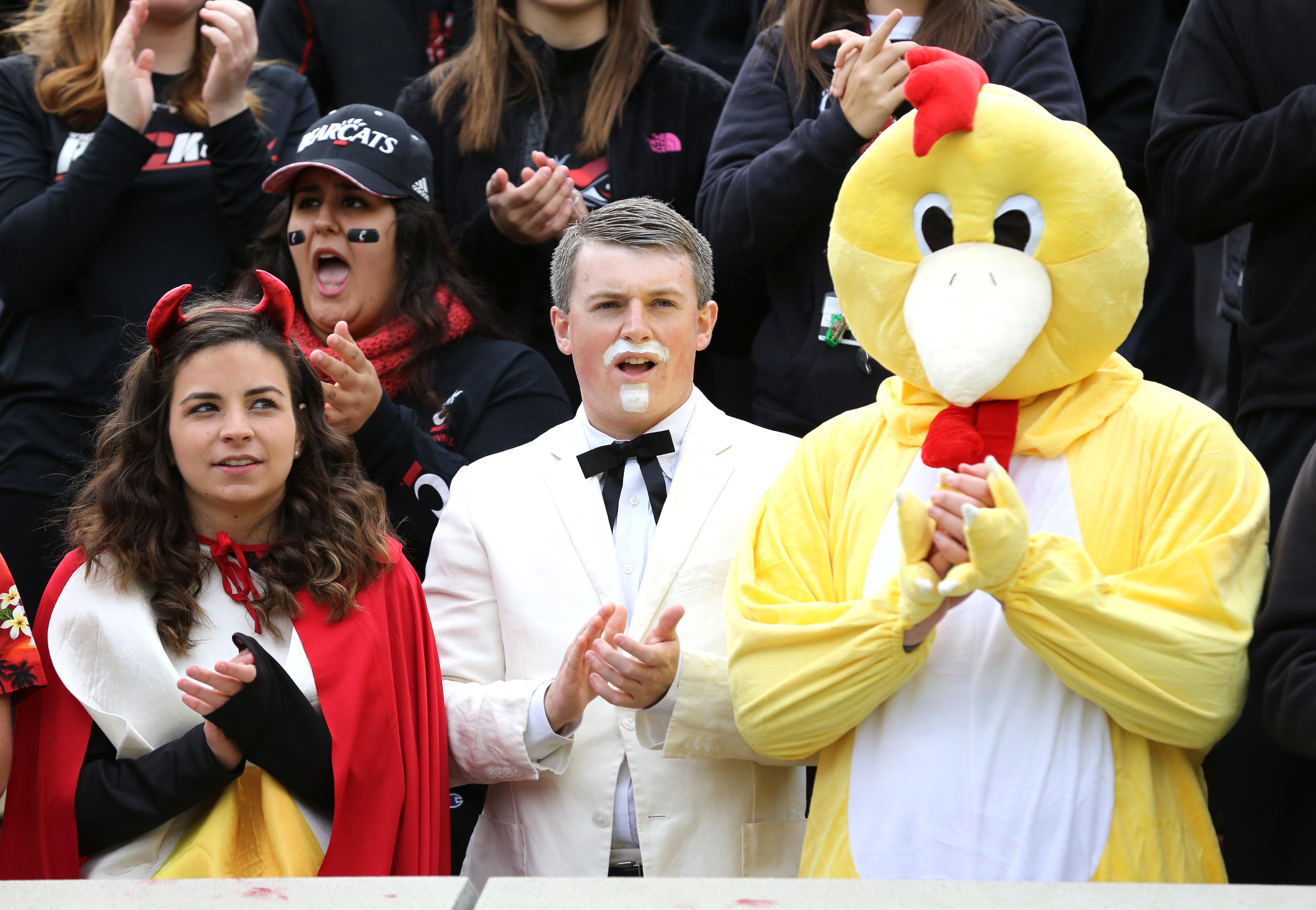 Even the Colonel is betting against UCF this week.