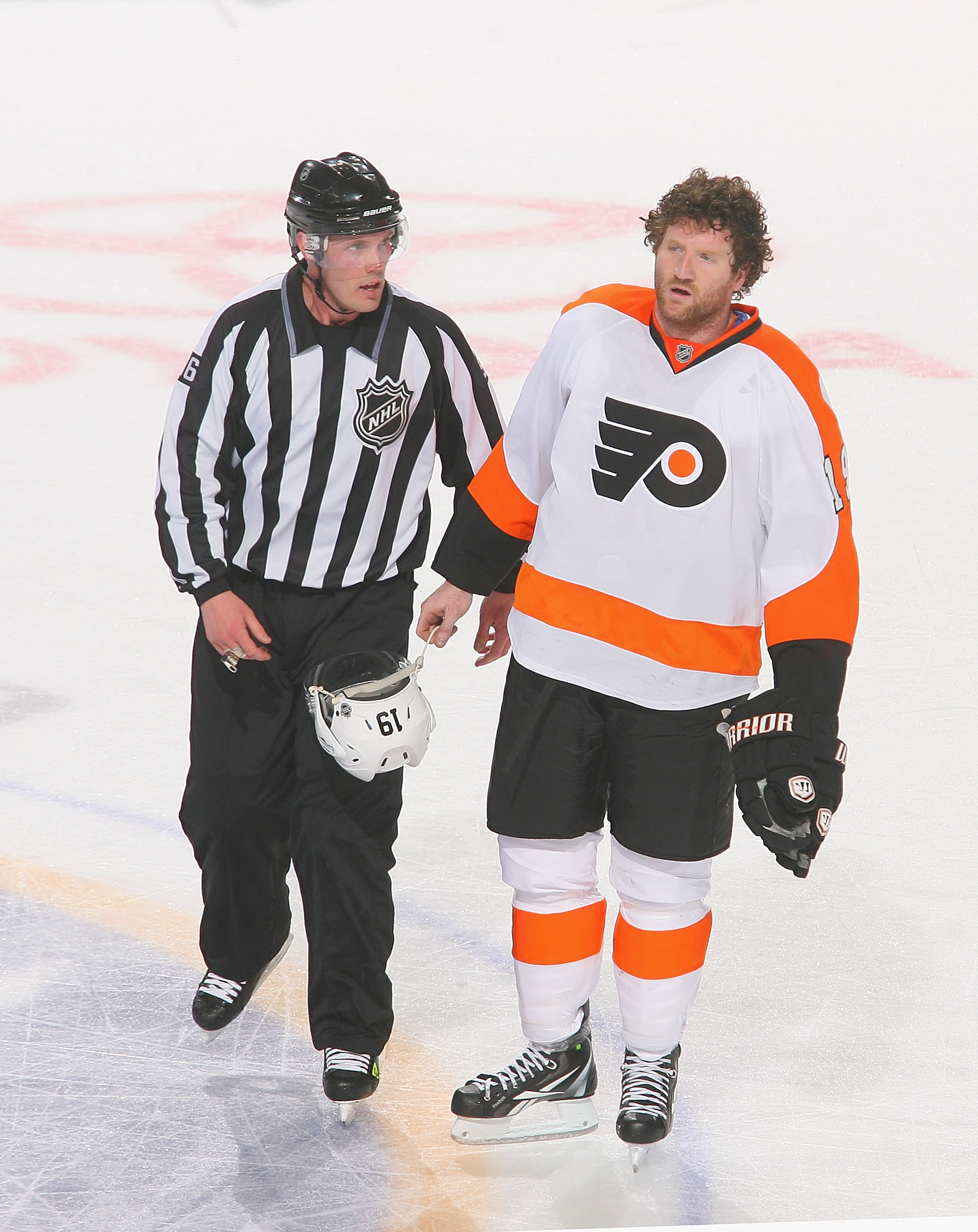 Scott Hartnell has spent over 1500 minutes in the penalty box in his career. That's over 25 full NHL games.