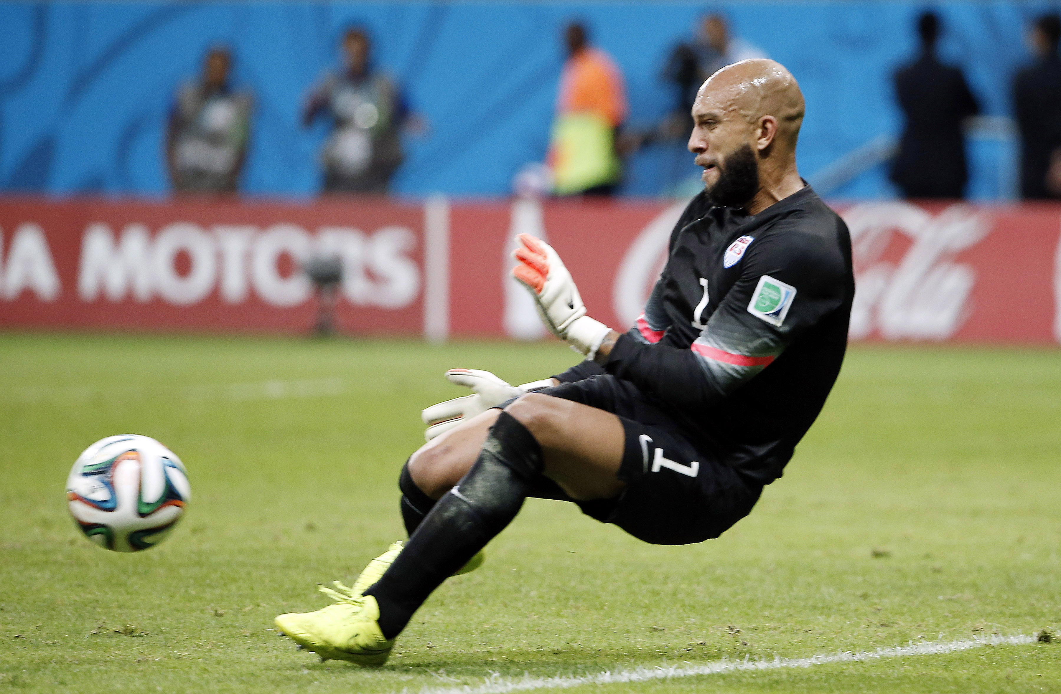 Will Tim Howard get the call in goal for the Stars and Stripes