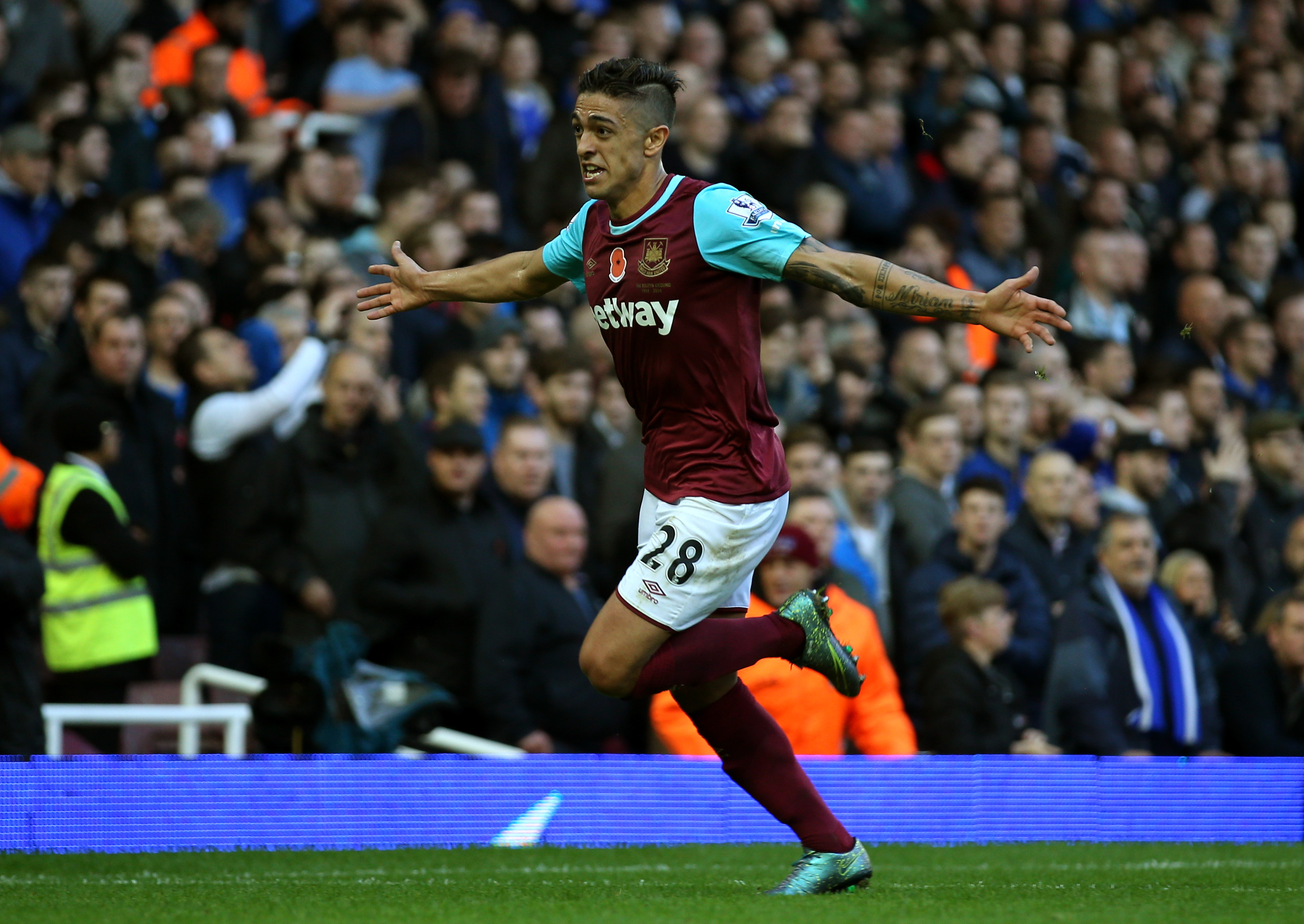 Lanzini has been an under-the-radar stud for the Hammers recently.