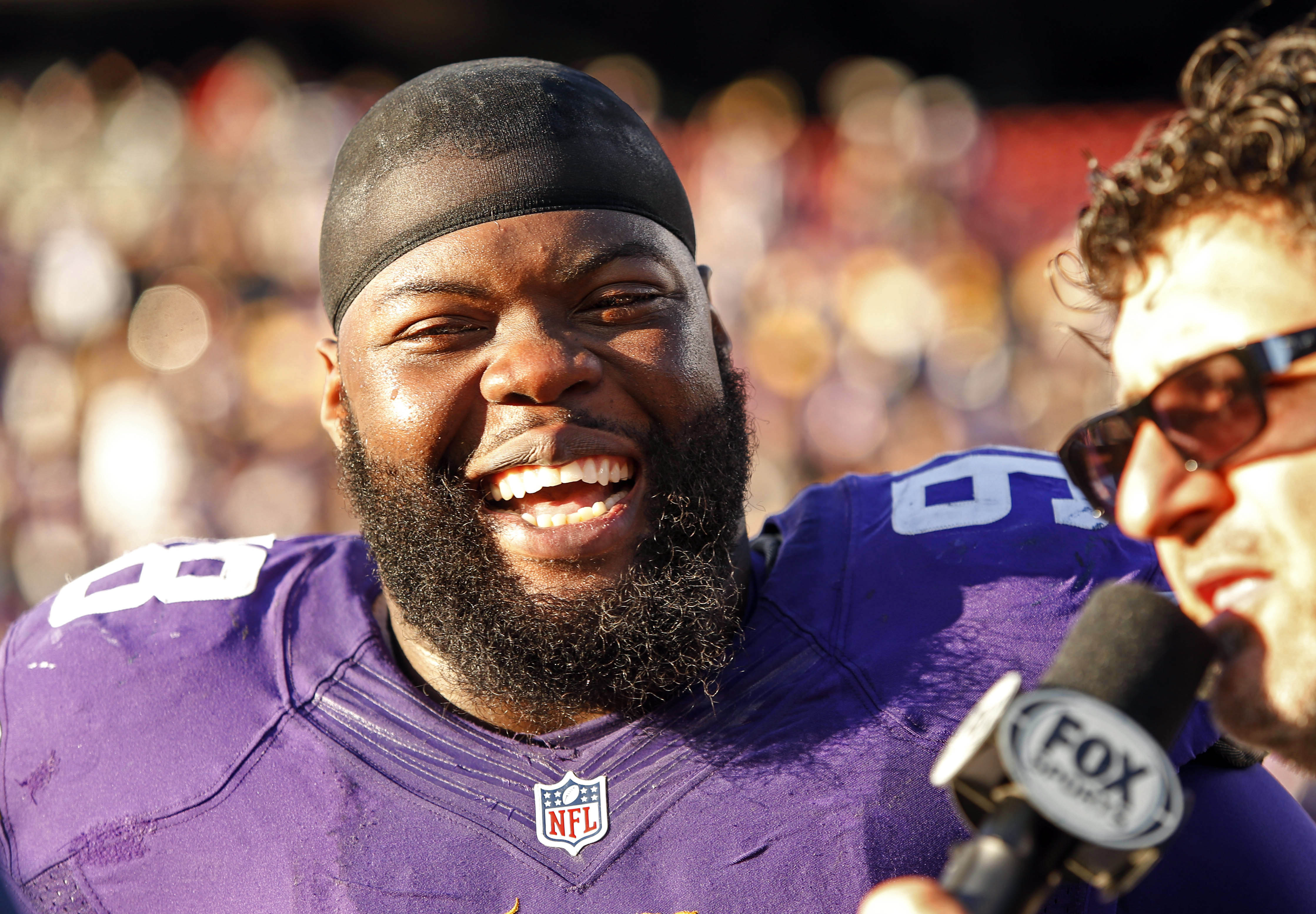 Linval Joseph: The ultimate Blue Chipper on Sunday.