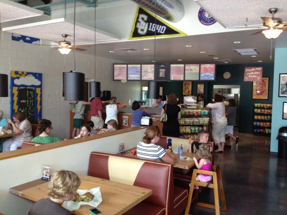 Thundercloud Subs in Georgetown