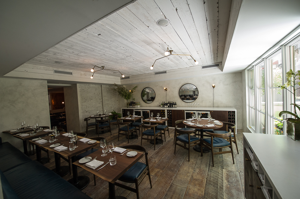 [The back space at The Musket Room. Could be a solid choice for dinner if you're in the mood for New Zealand-inspired cuisine in Noho.]