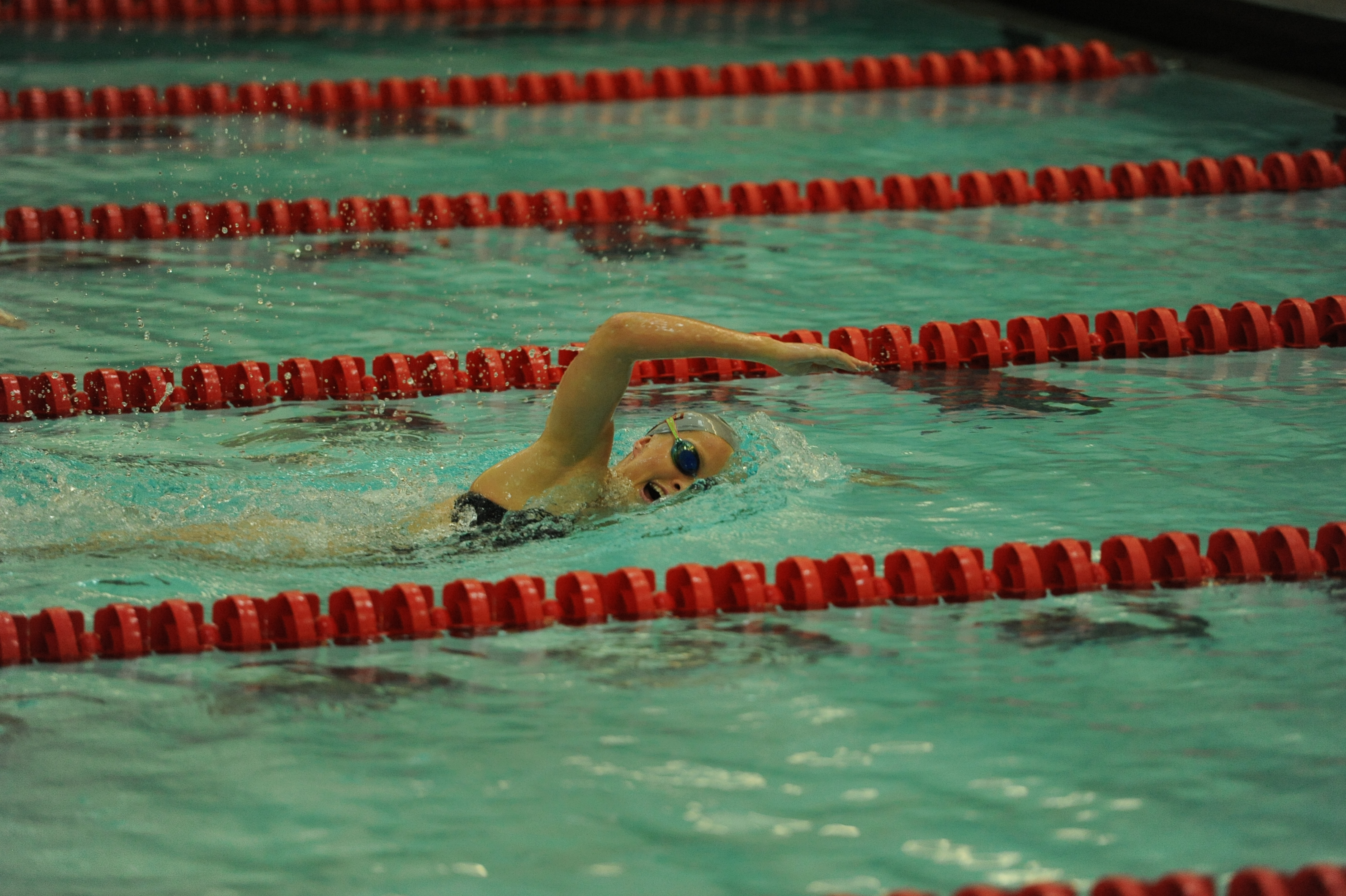 WSU's Kendra Griffin won a pair of races in San Diego this weekend