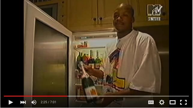 Franchise and his fridge.