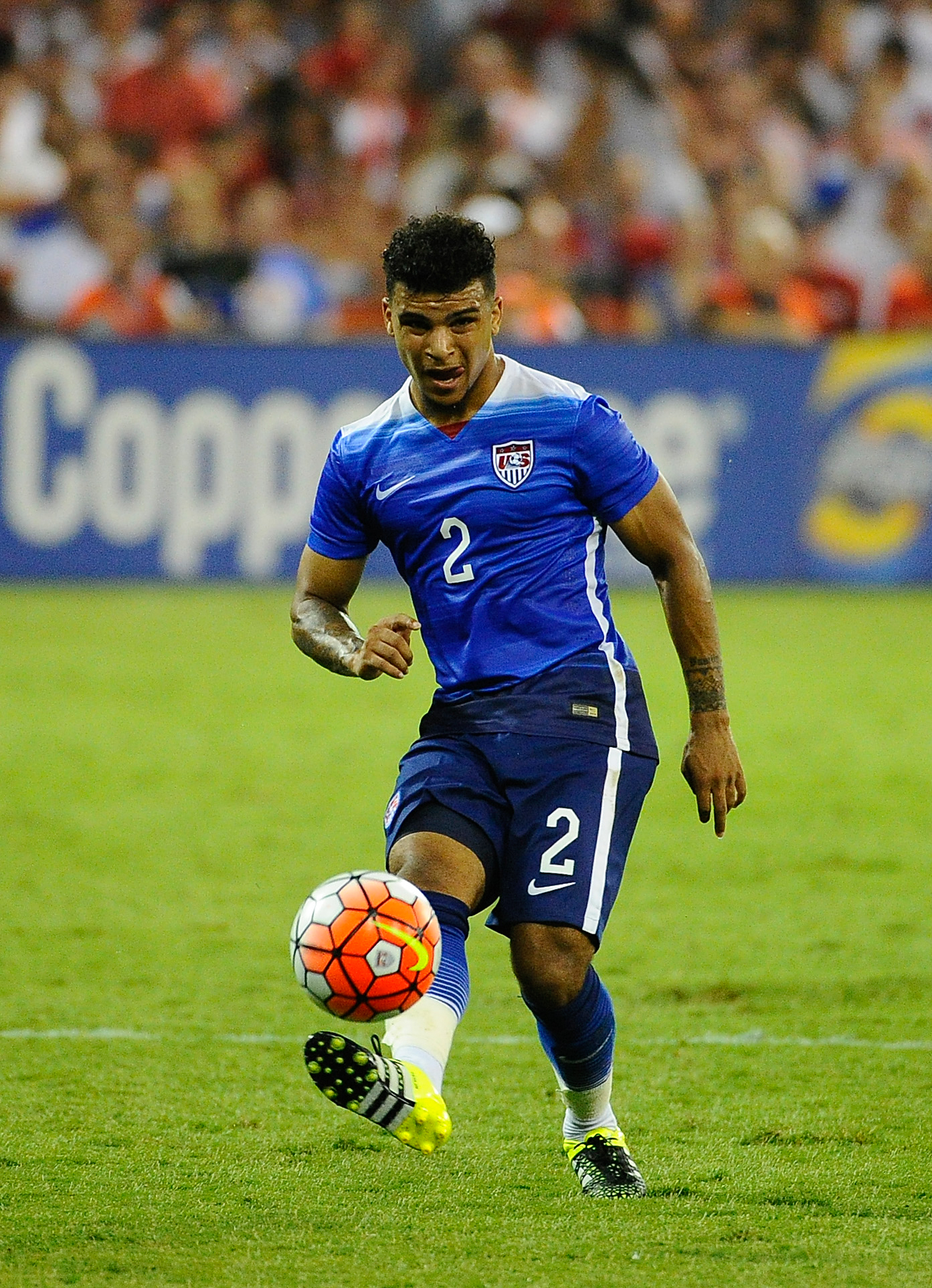 Former Sounder DeAndre Yedlin twice won this award from Sounder at Heart