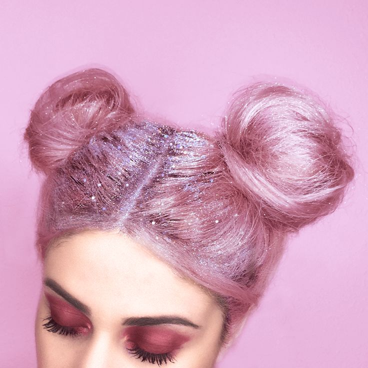 Glitter Roots Is the Latest Semi-Ridiculous Yet Practical Hair Trend