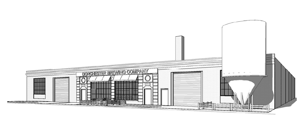 Rendering for Dorchester Brewing Company