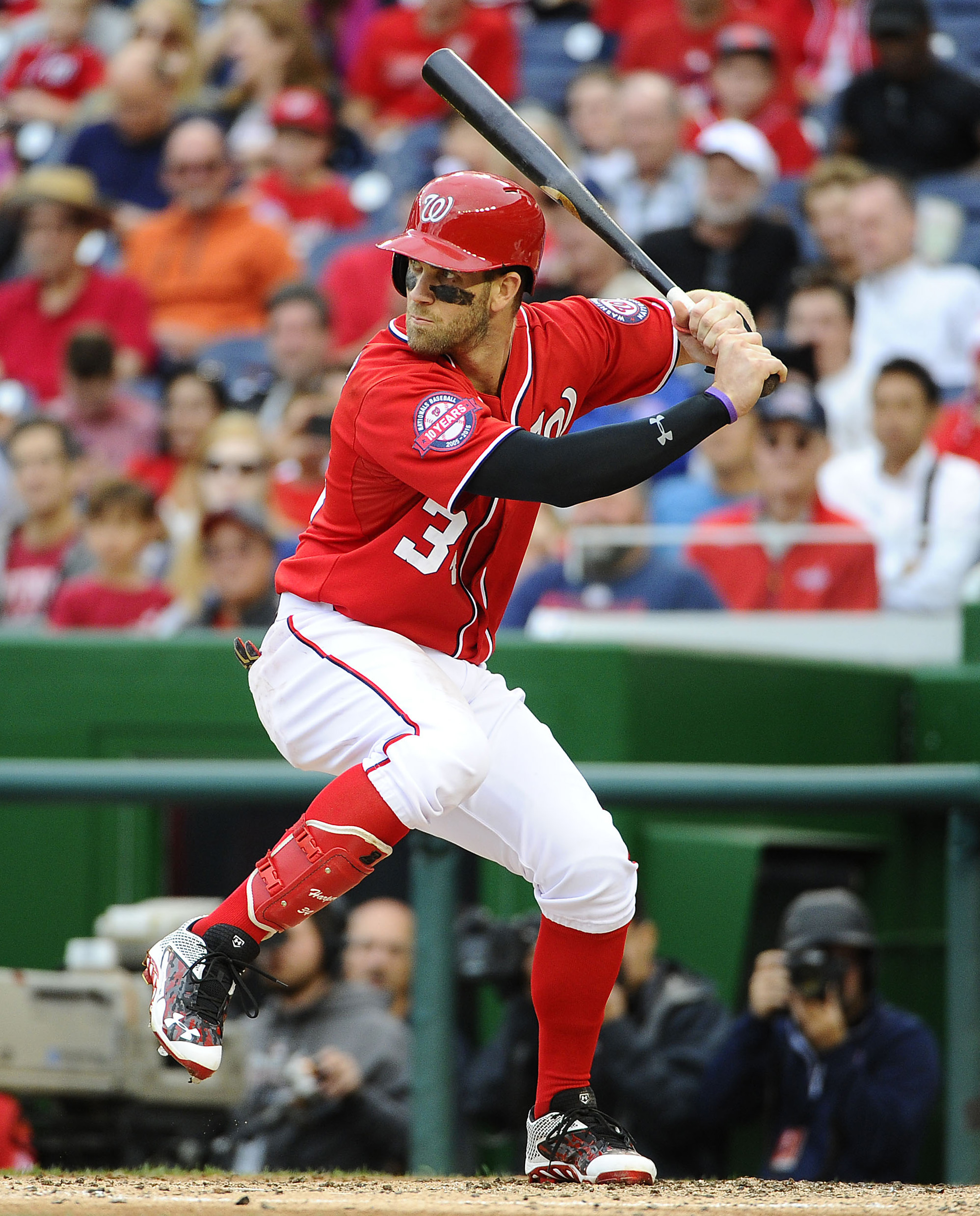 Bryce Harper was among the three NL Silver Slugger Award winners in the outfield.