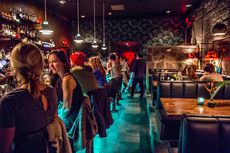 The SOS Tiki Bar.