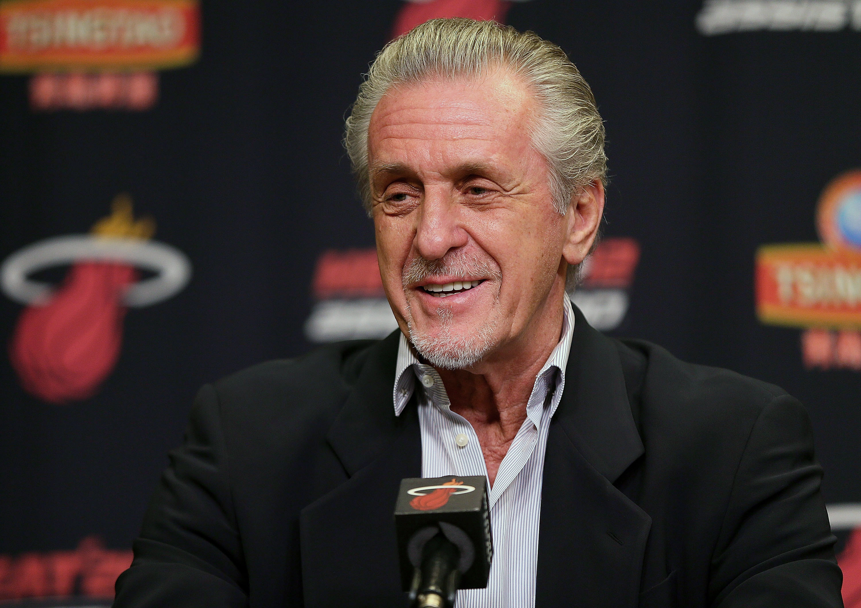 Pat Riley reportedly steered LaMarcus Aldridge to the Spurs by accident