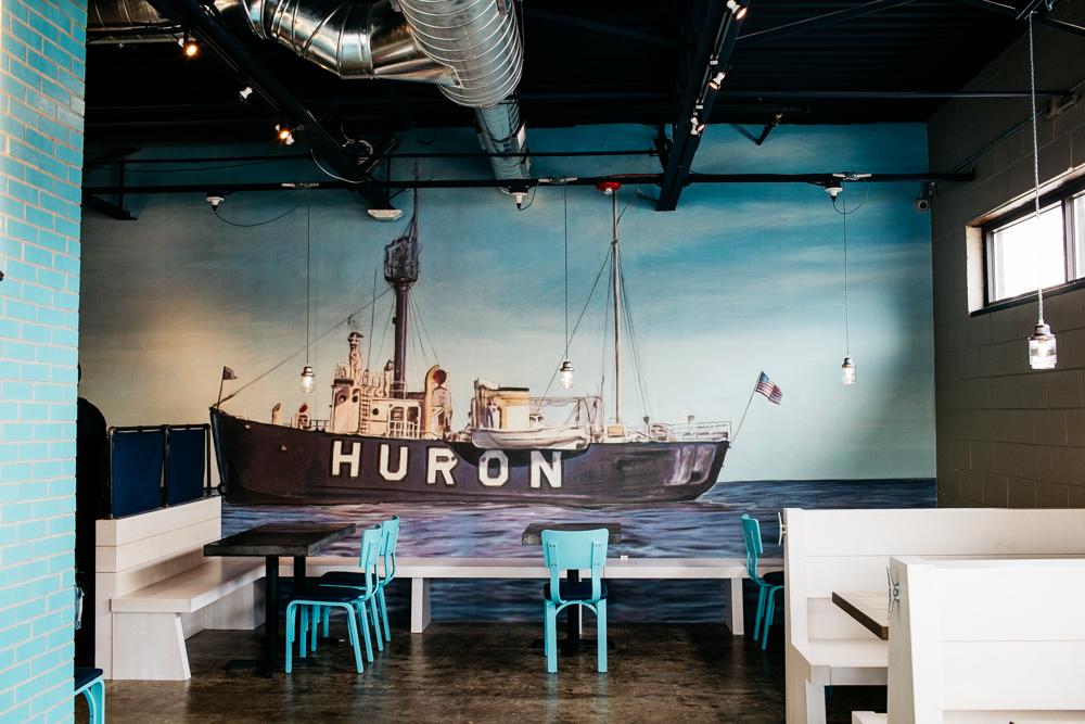Huron Room.
