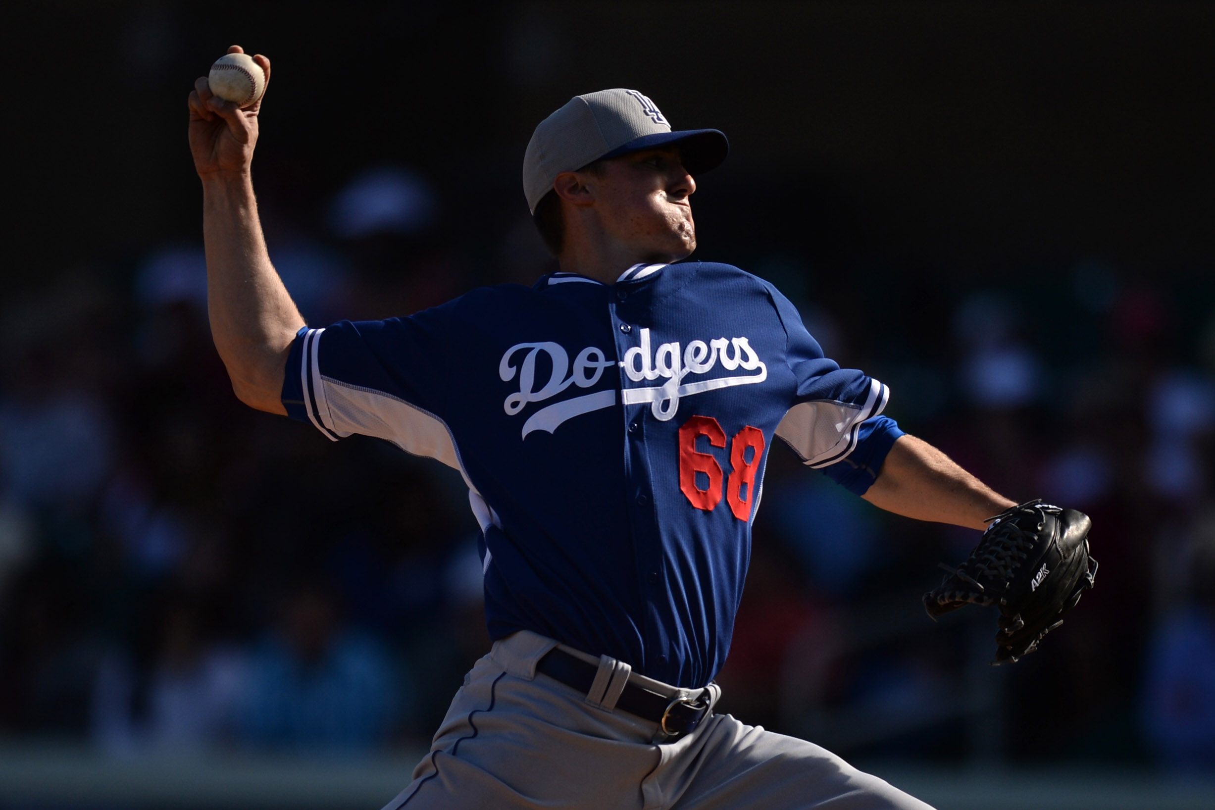 Ross Stripling was added to the Dodgers' 40-man roster on Friday.