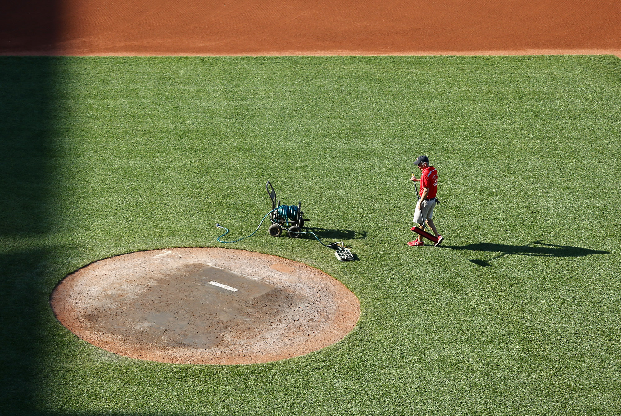Will this member of the Fenway grounds crew take down top honors?