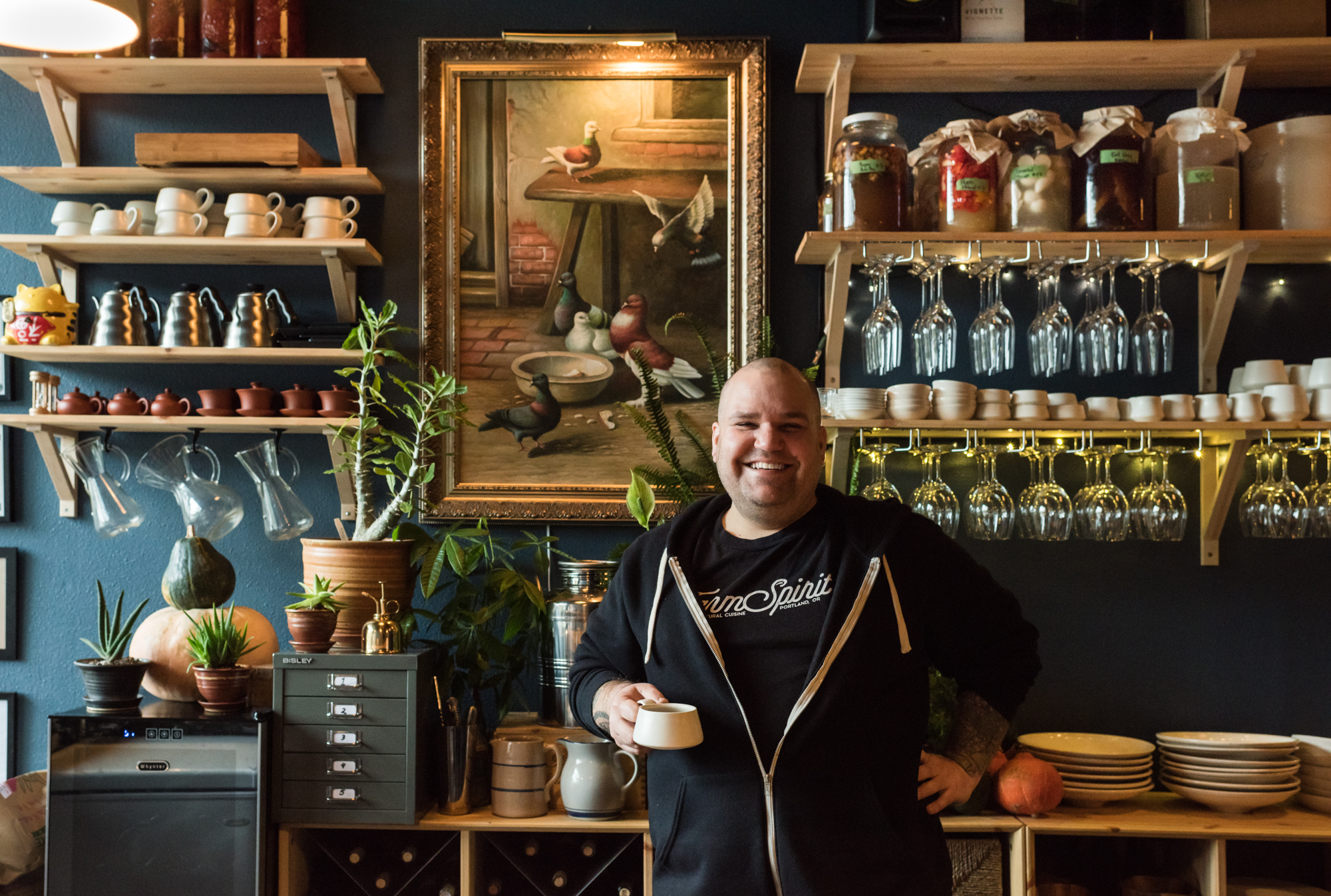 Chef Aaron Adams of Farm Spirit