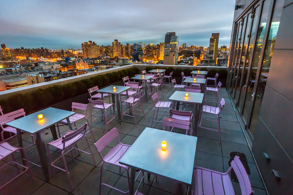 Gerber Group launched Mr. Purple on Wednesday at Hotel Indigo Lower East Side.