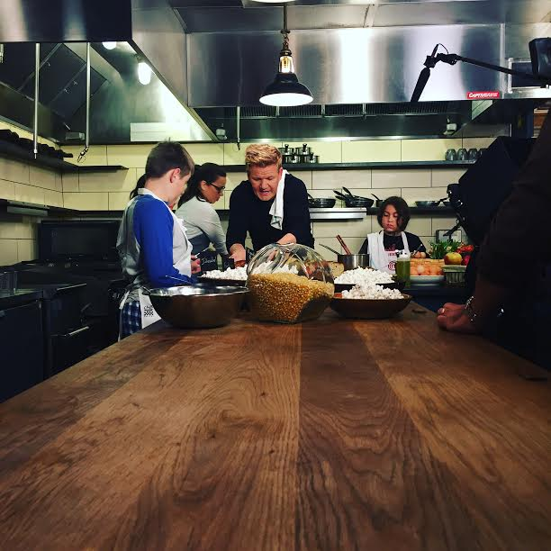 Gordon Ramsay cooking with kids