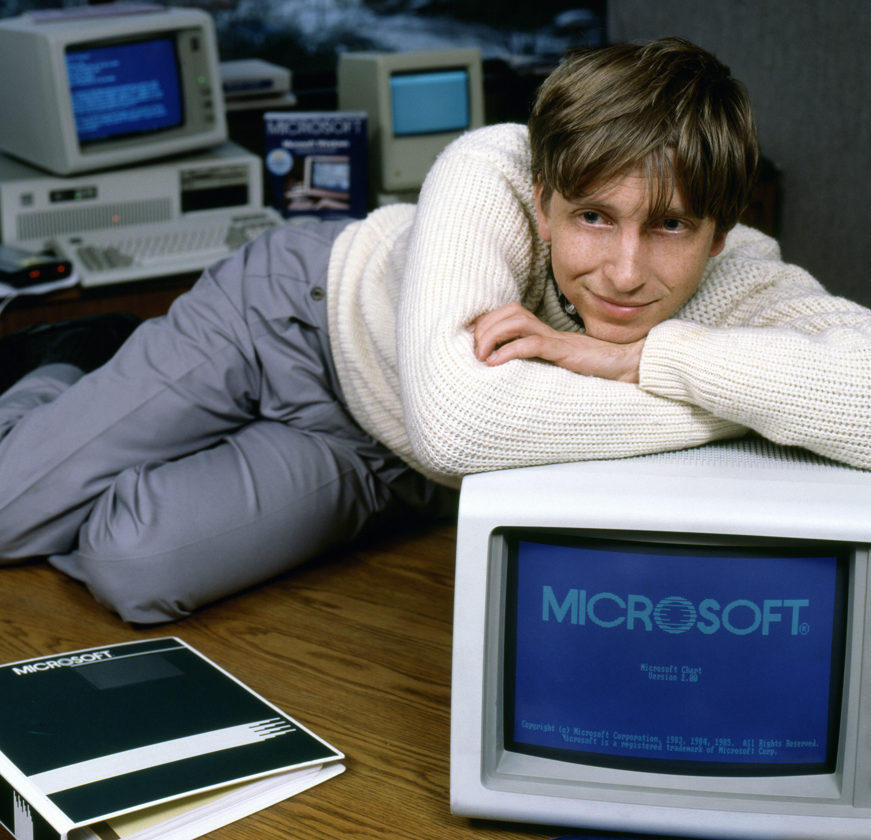 Bill Gates Portrait Session