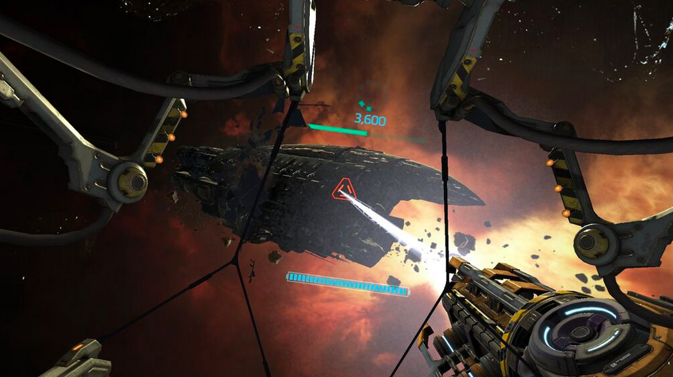 Eve Online's lore goes into VR with Gunjack, a gritty take on the Galaga formula