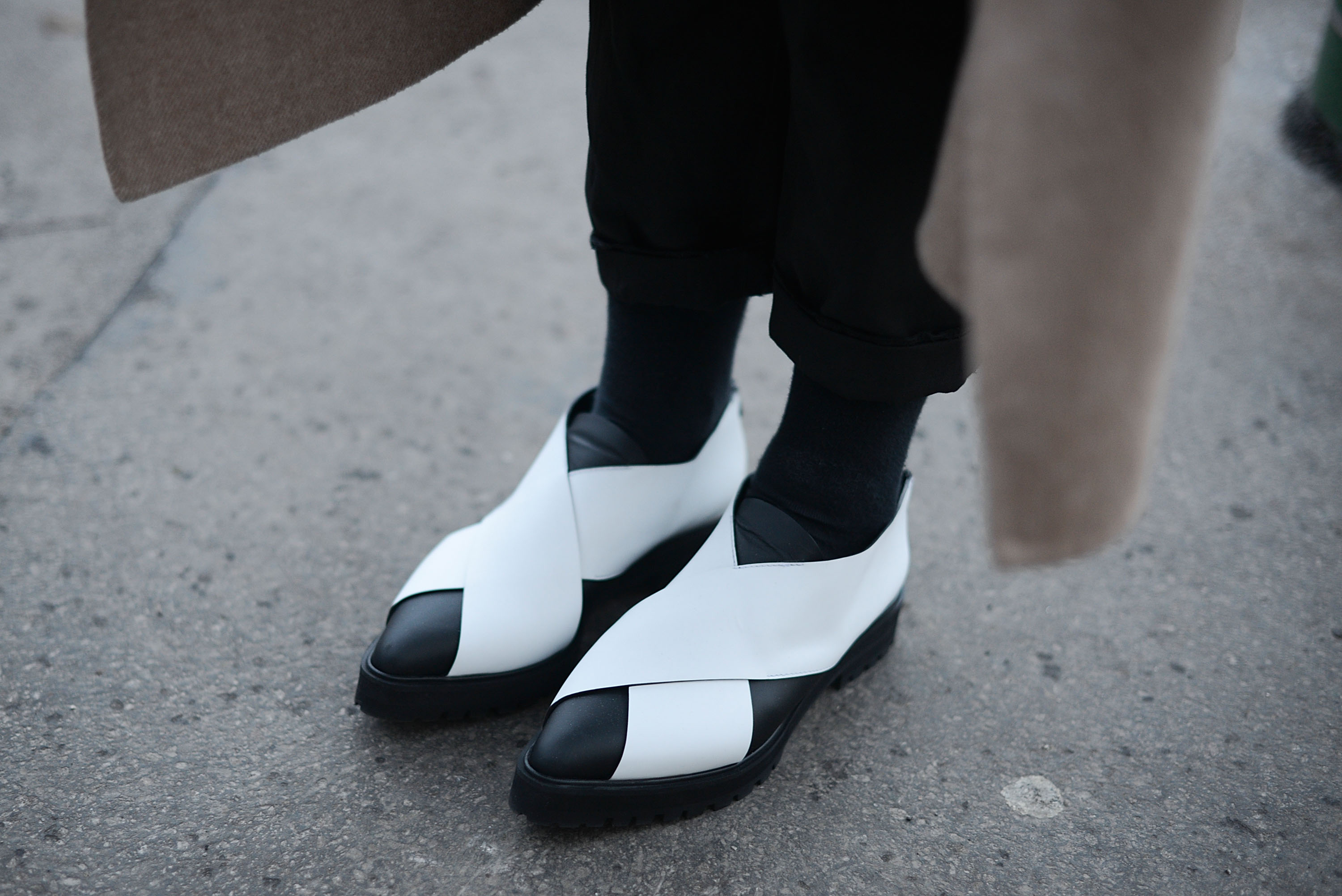 These Proenza shoes, spotted in Milan in January, were in abundance at the sale earlier this week.