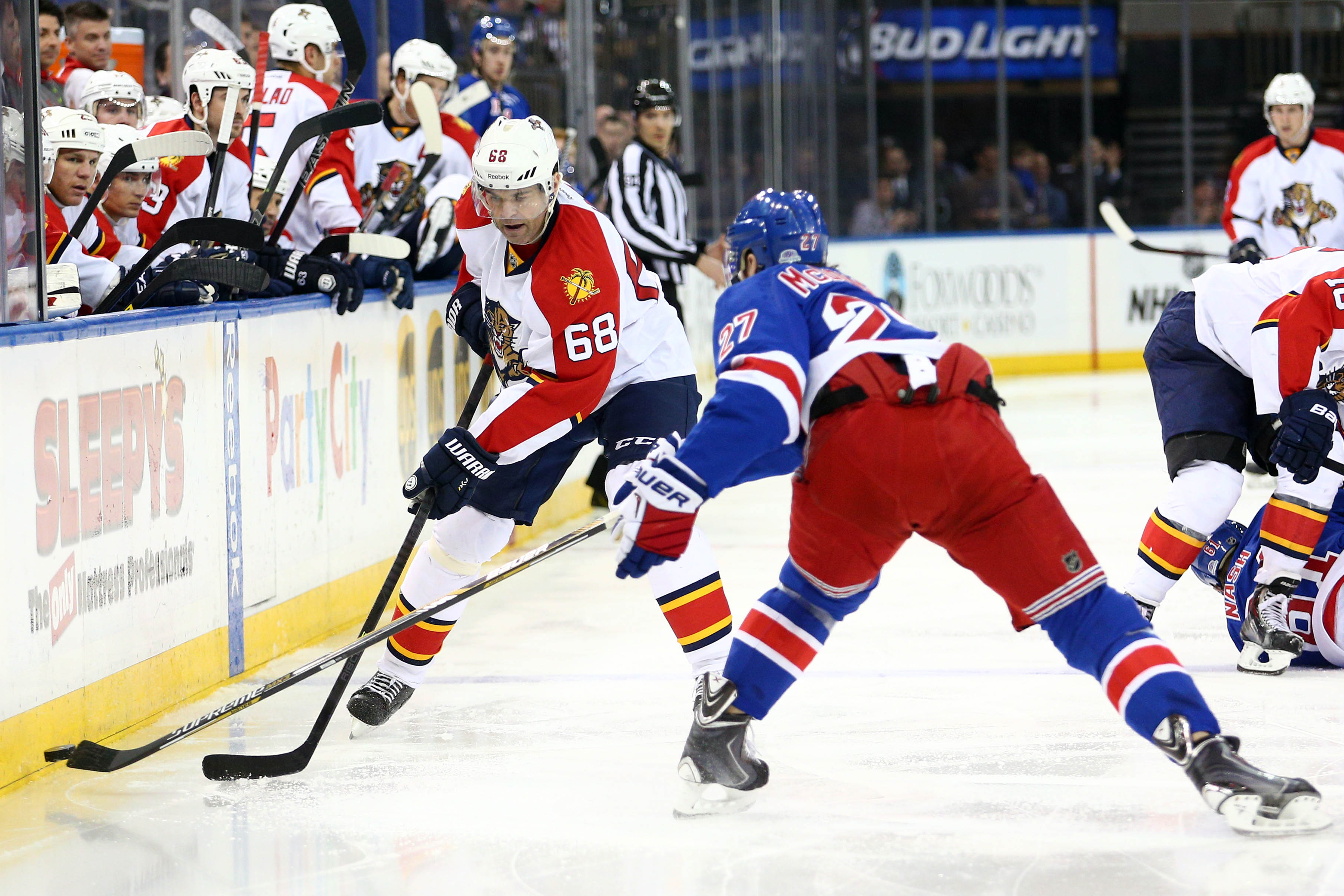 Preview Rangers Visit Jagr and Panthers