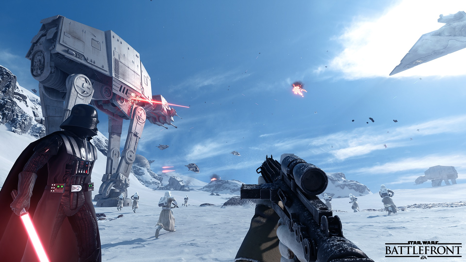 Figures suggest PS4's Battlefront player base is larger than Xbox One and PC's combined