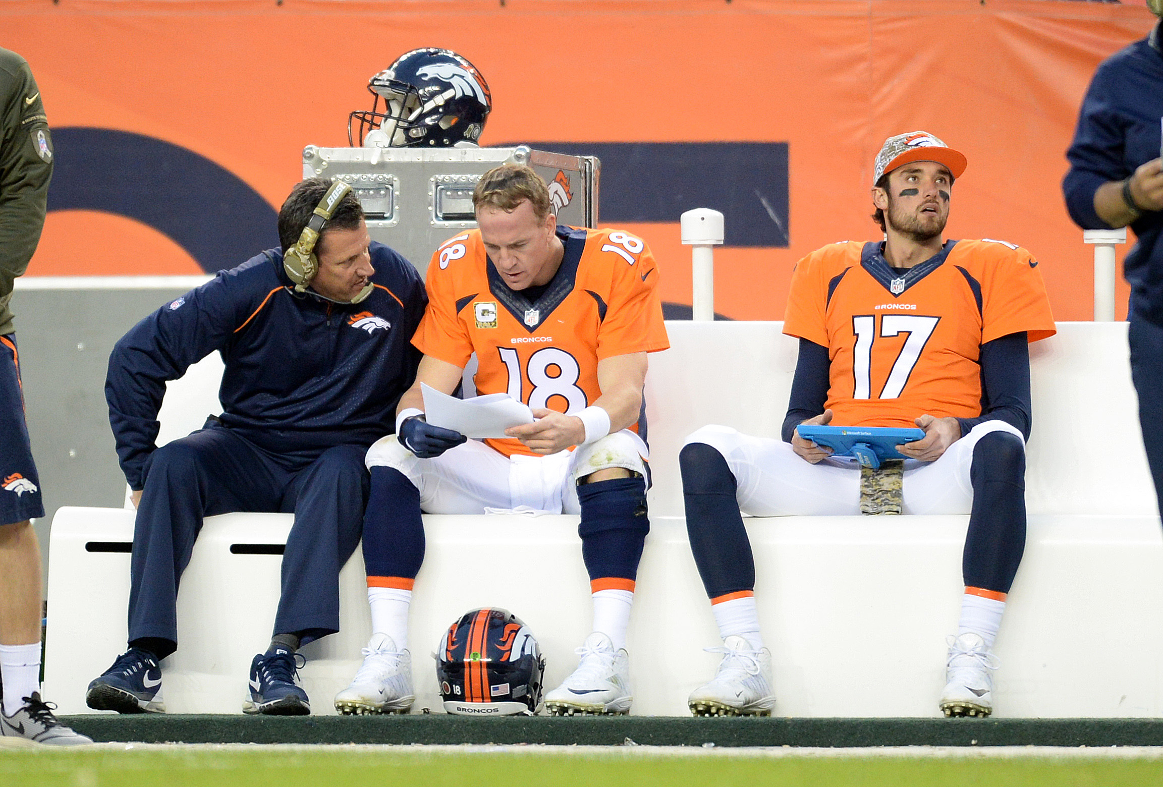 Peyton Manning to see a foot specialist Monday, per report, fantasy future in doubt