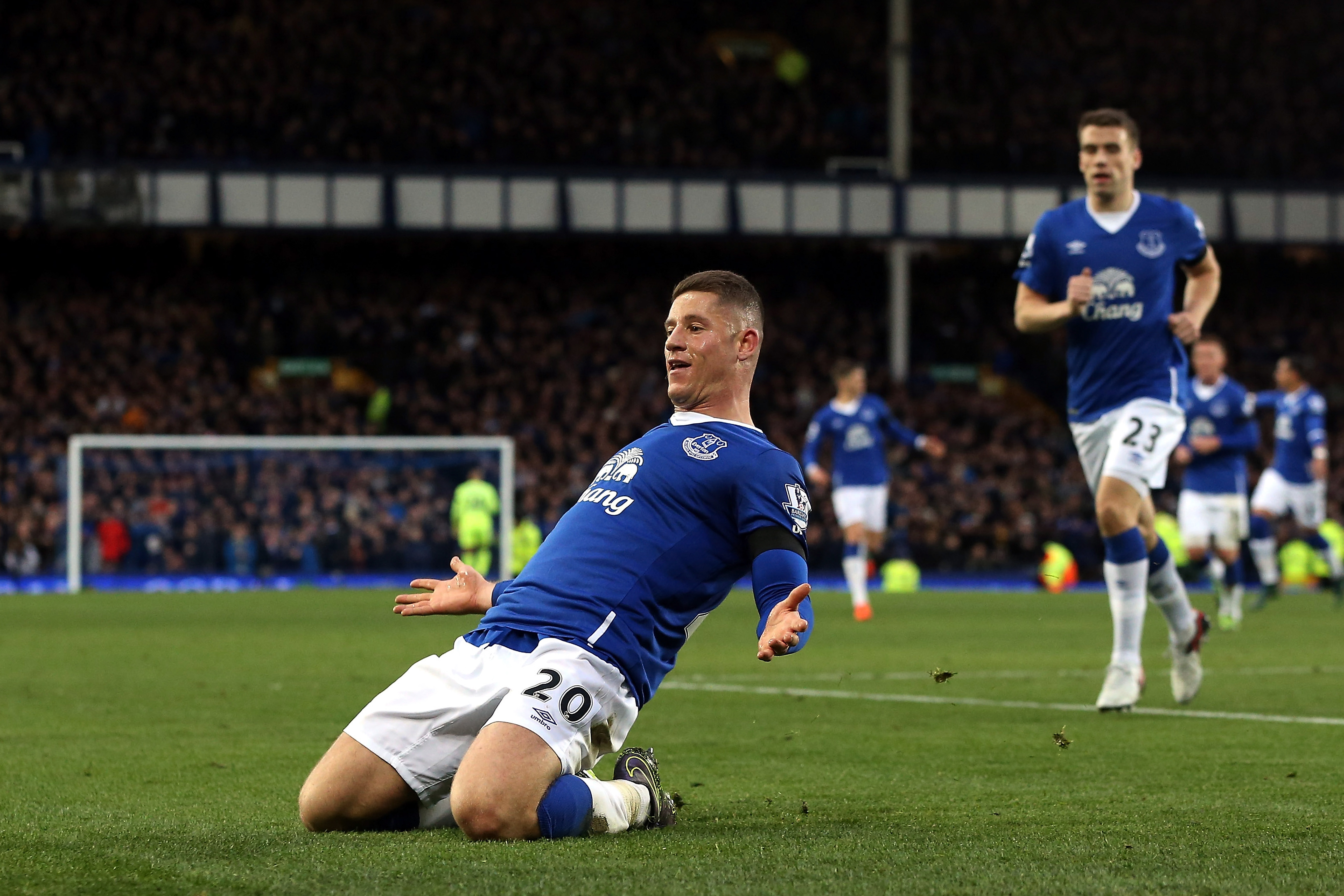 Barkley put in another in a long line of exceptional performances by Everton players this season.