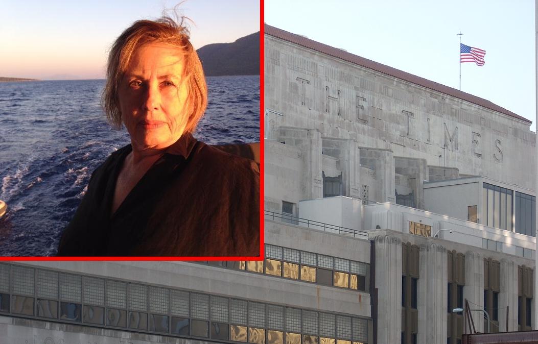 S. Irene Virbila/LA Times Building, Downtown LA