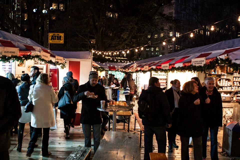 Urbanspace's Columbus Circle Holiday Market