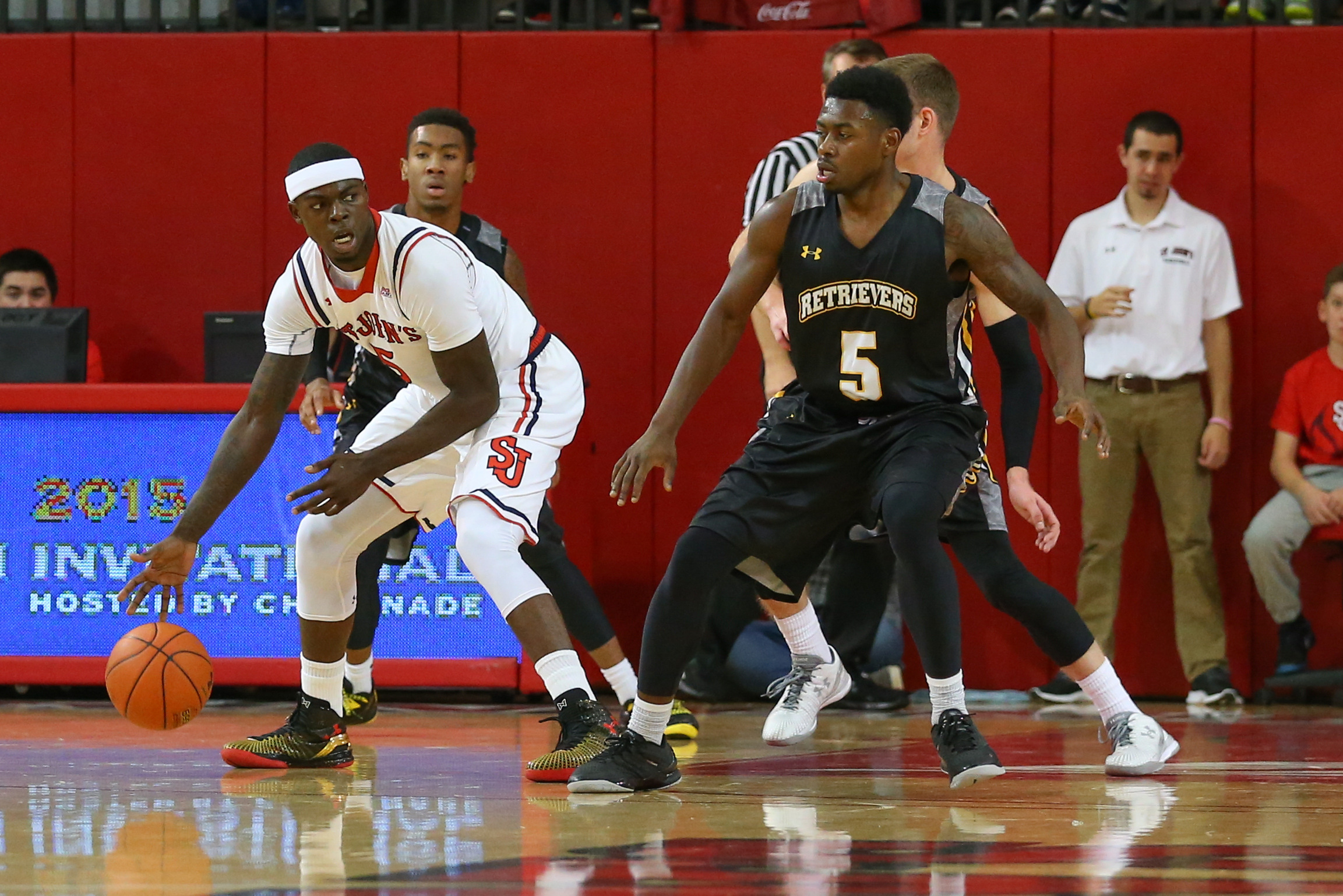 Durand Johnson is among many of the Johnnies struggling so far.