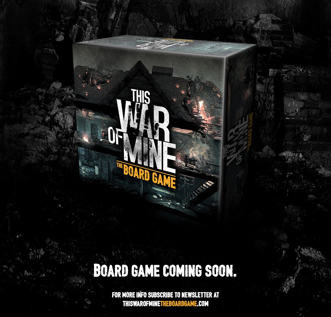 This War of Mine is getting a board game adaptation
