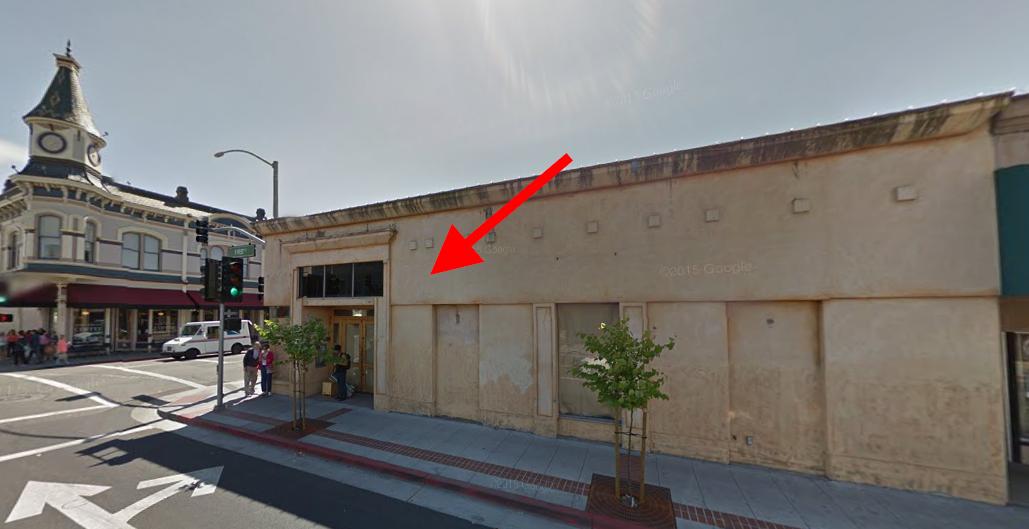 New location of Napa's Bounty Hunter
