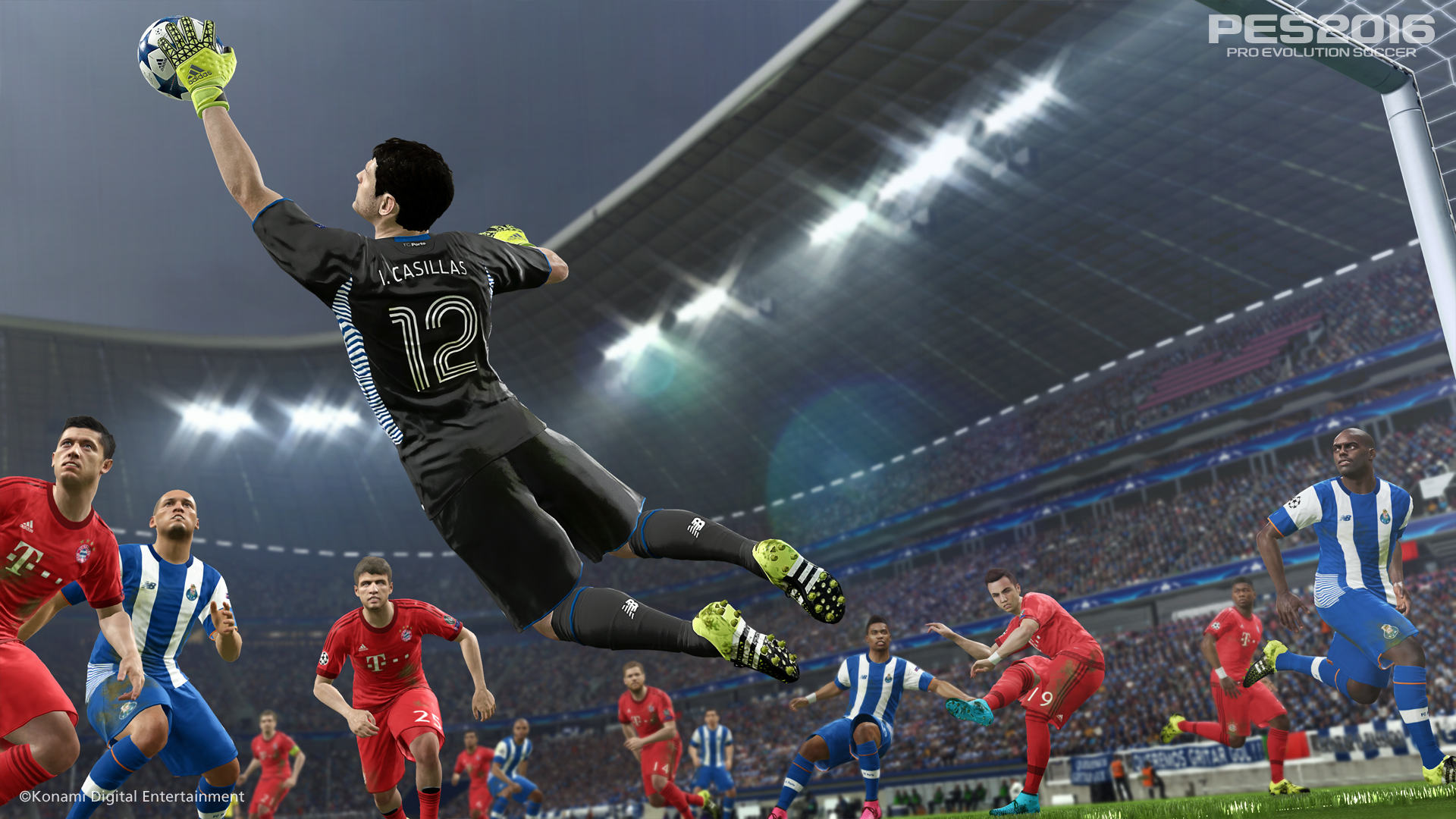 Pro Evolution Soccer 2016 finally gets accurate rosters next week
