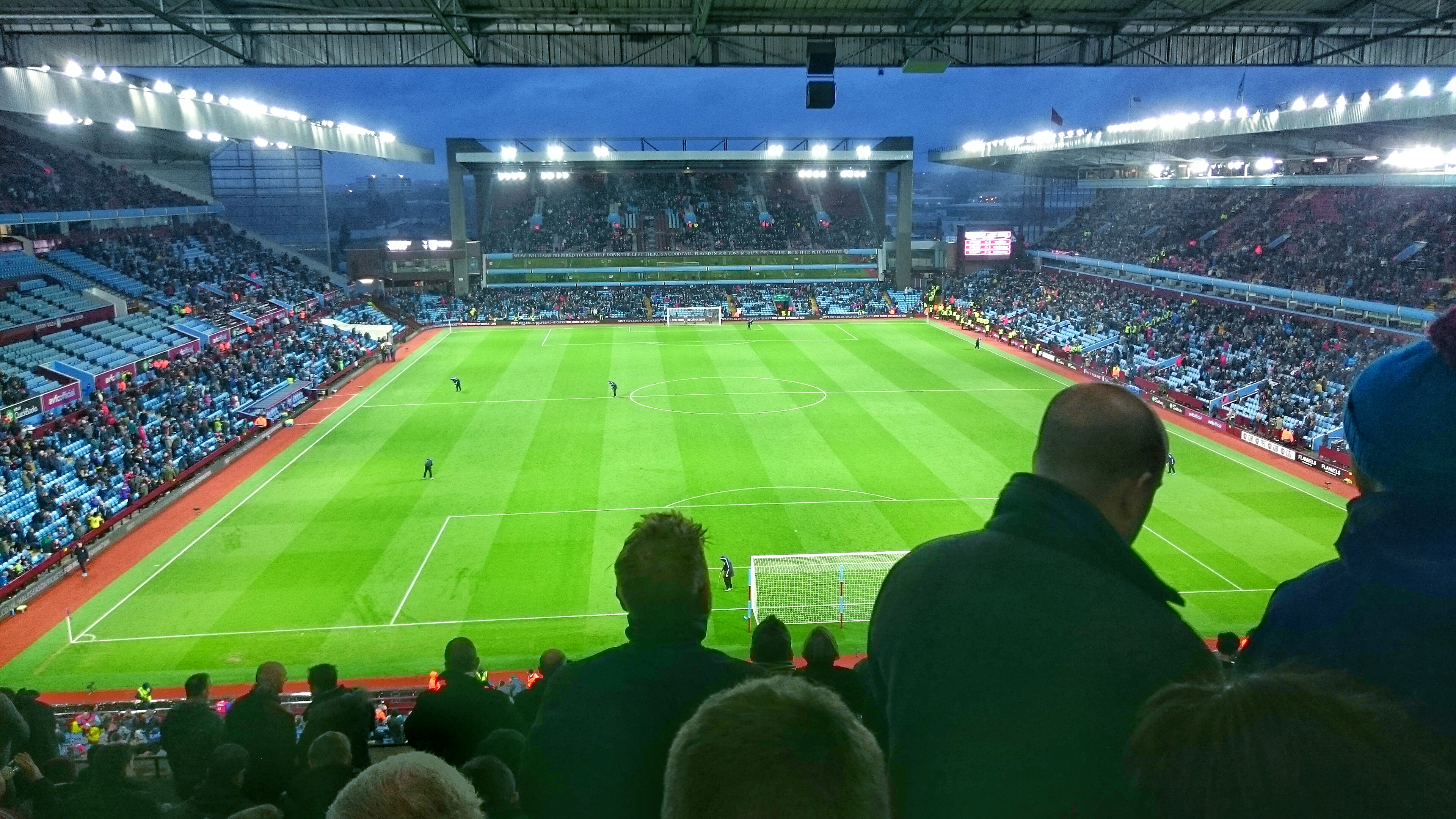 Win, Lose or Draw - Villa Park never fails to look incredible.