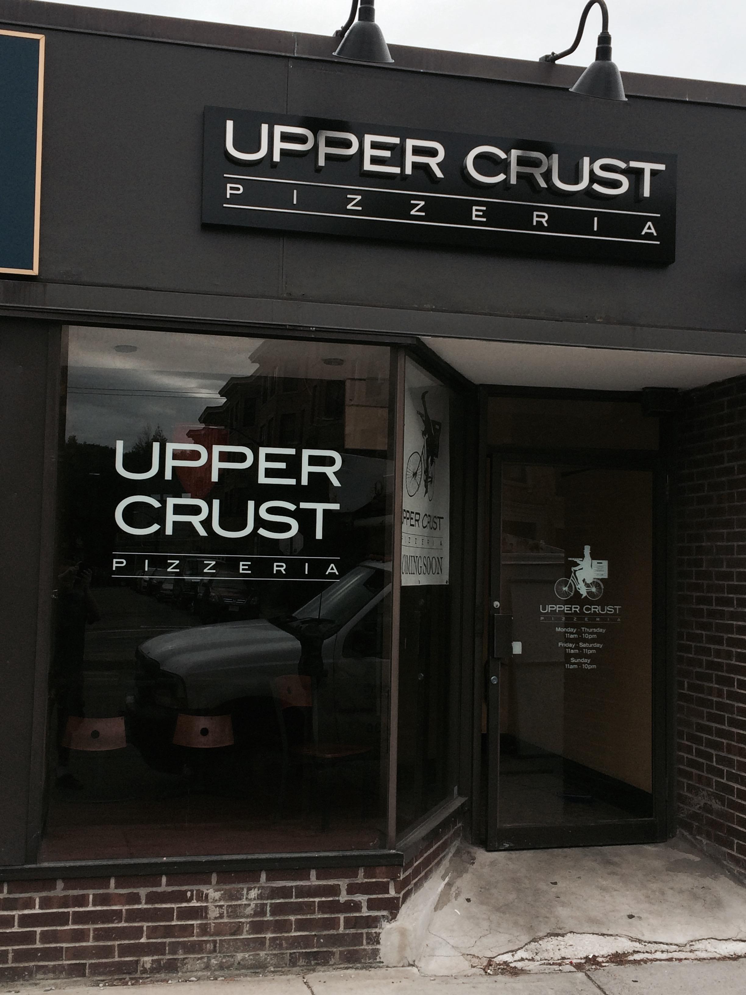 Upper Crust, in the works in Cambridge.