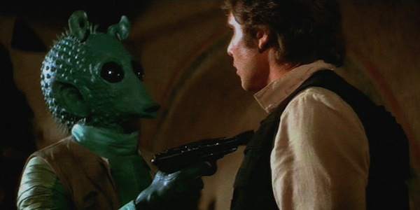 George Lucas opens up about decision to have Greedo shoot Han first