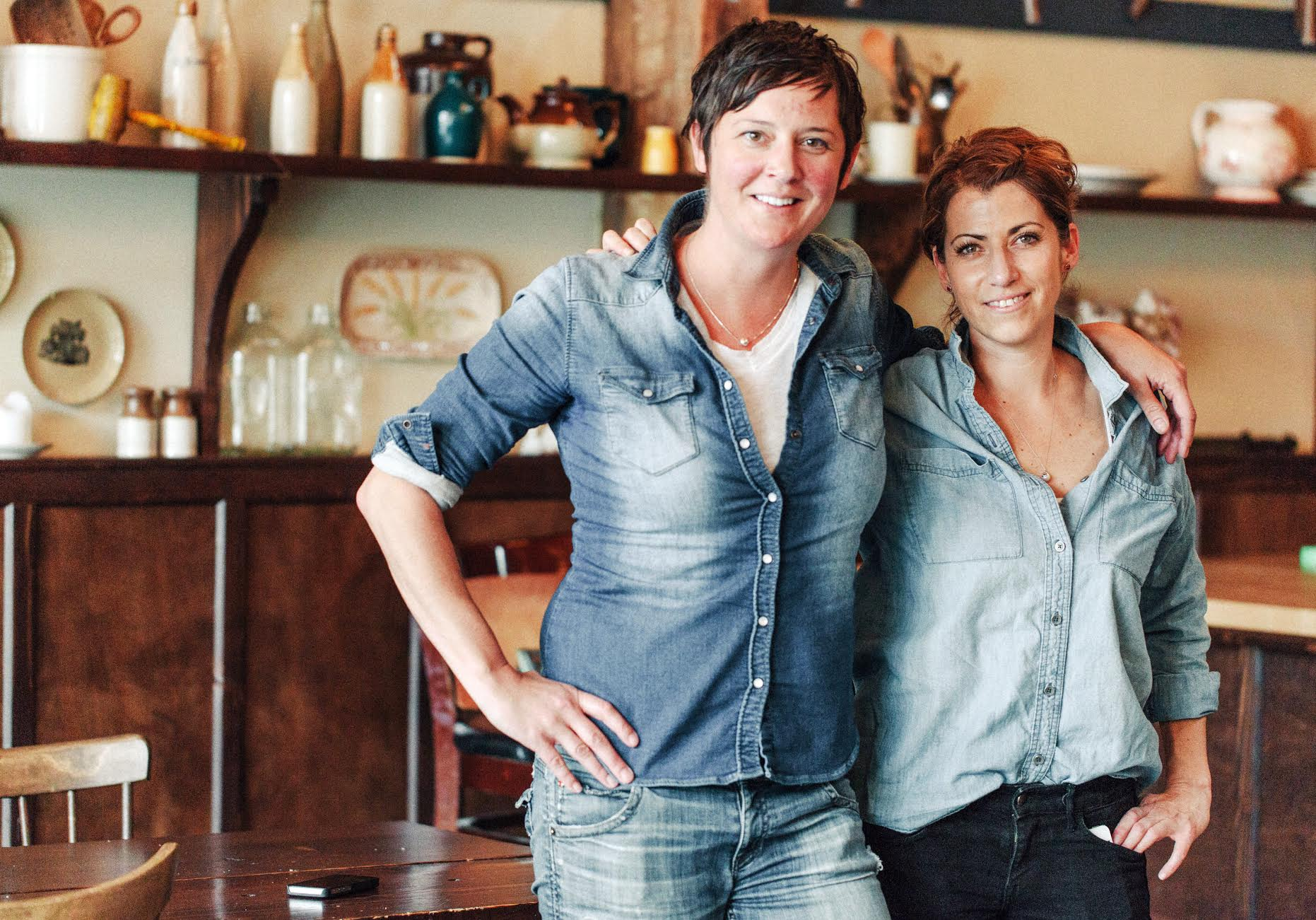 Olympia Oyster Bar owners and chefs Melissa Mayer and Maylin Chavez