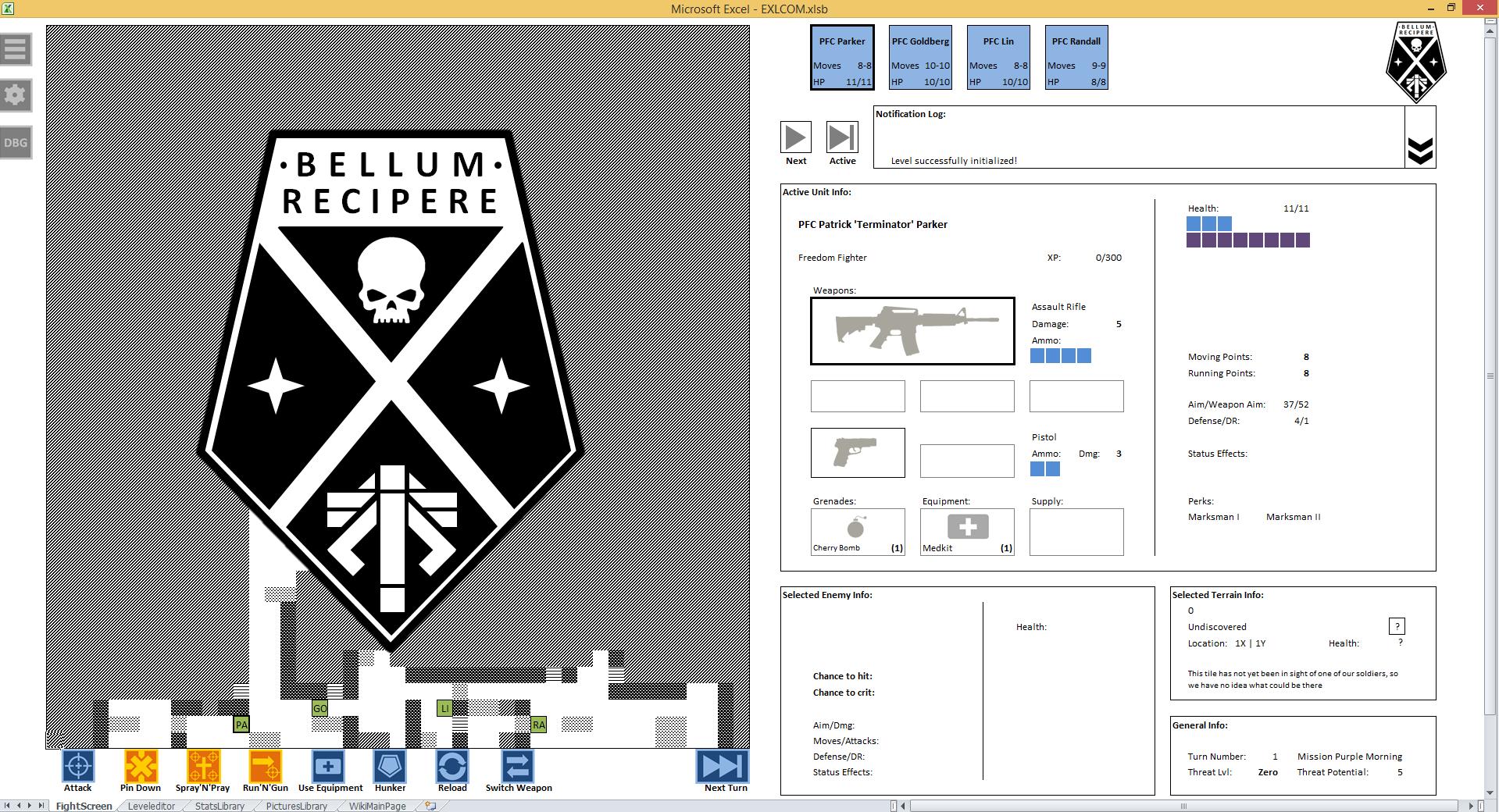 Programmer creates new XCOM game — in Excel