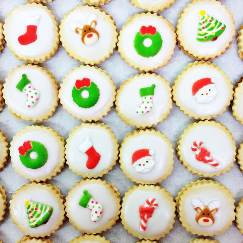 Christmas Empire Biscuits