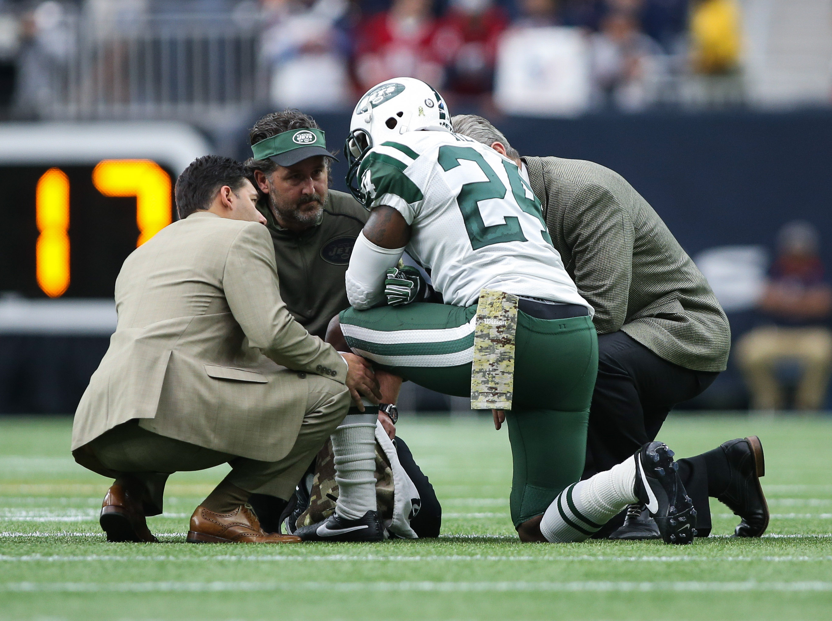 Darrelle Revis may sit out the Giants game with a concussion