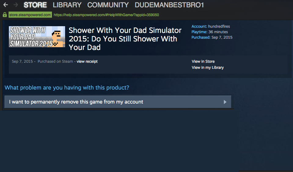 You can now delete those unwanted, unloved games from your Steam library