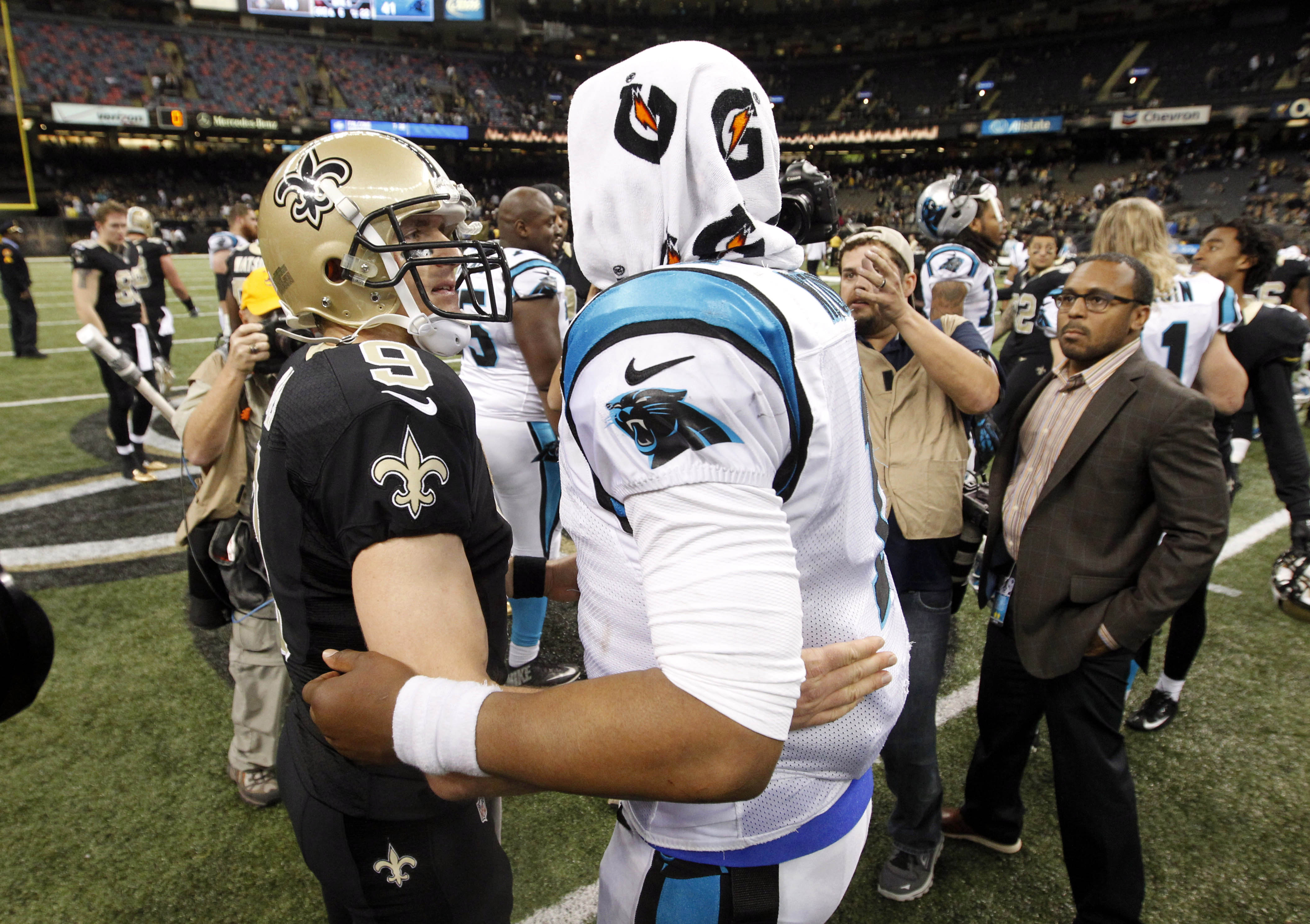 Nothing but love for you, homie. Two of the best QBs playing today.