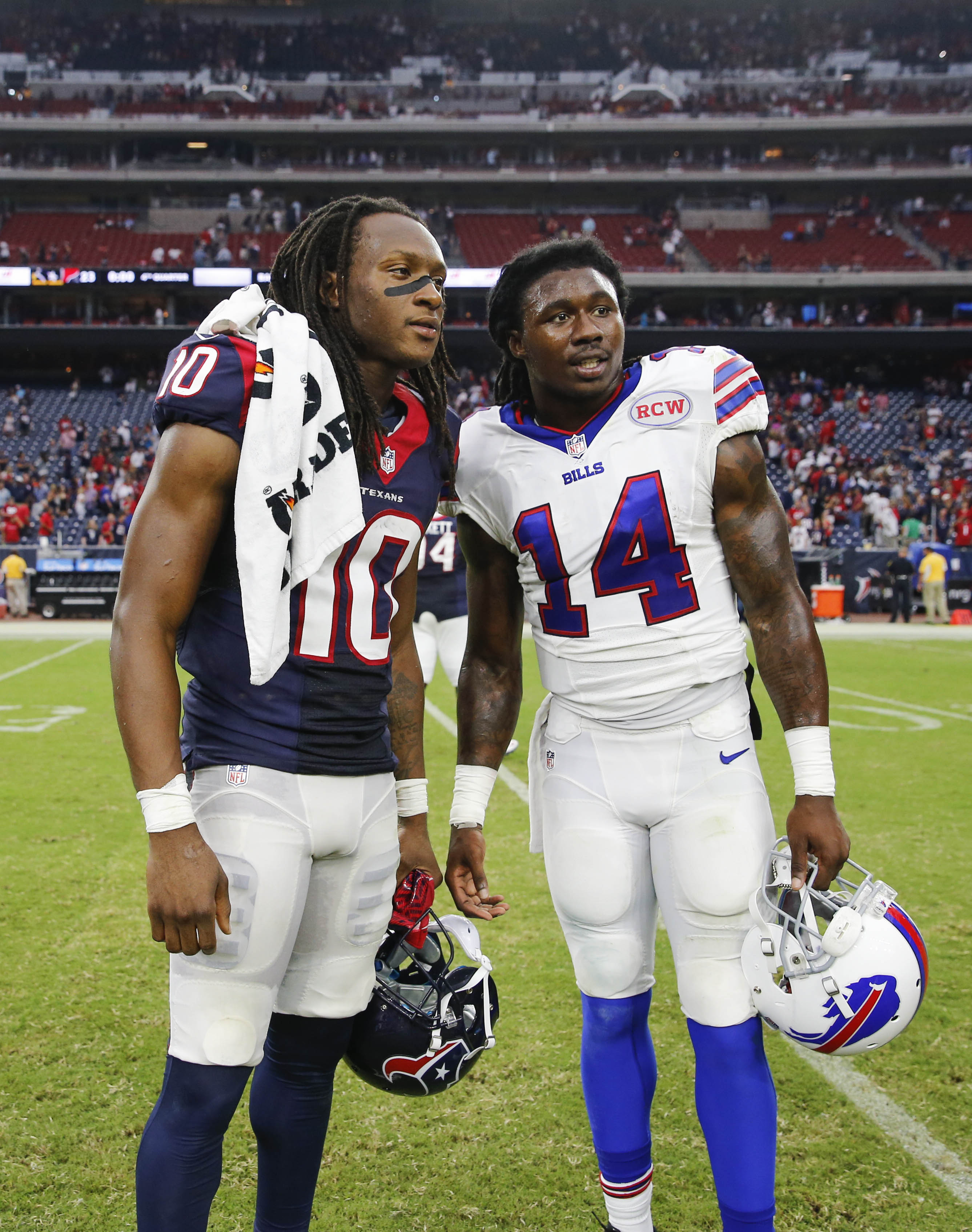 Two Clemson greats, performing well in the NFL.