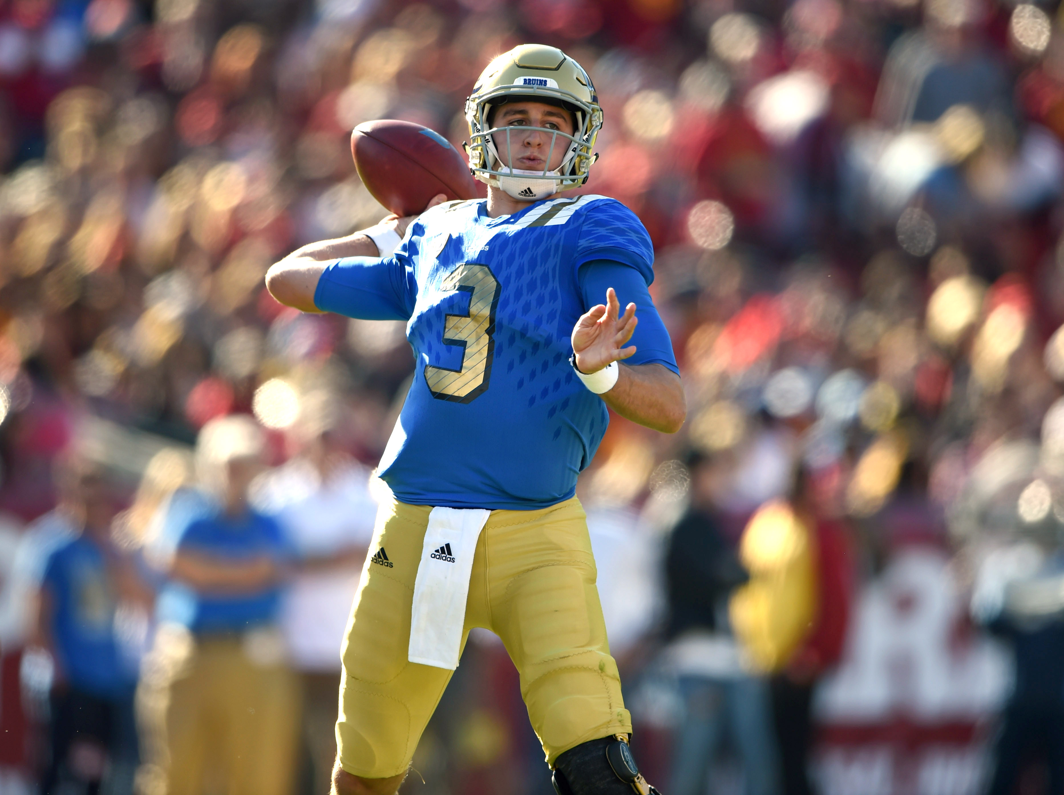 Josh Rosen and the Bruins will face the Nebraska Cornhuskers in the Foster Farms Bowl.