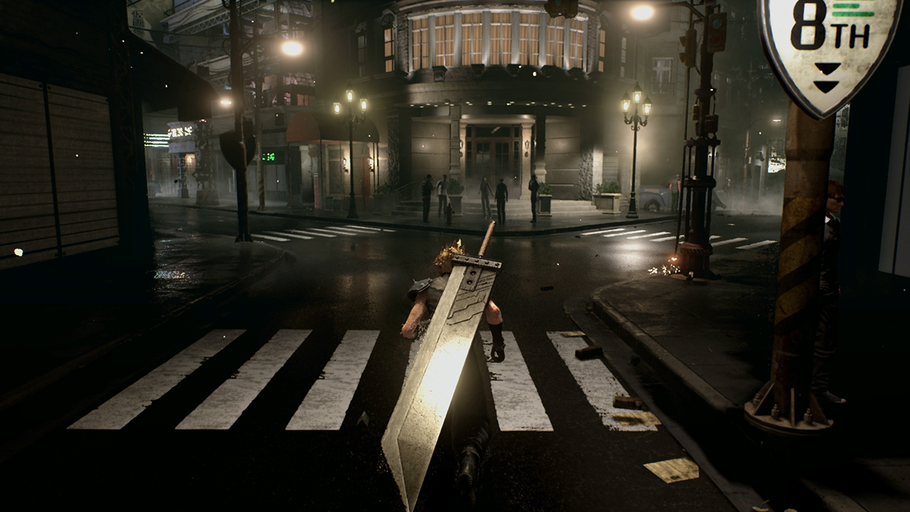Final Fantasy 7 remake will be bigger than the original, made in Unreal Engine 4