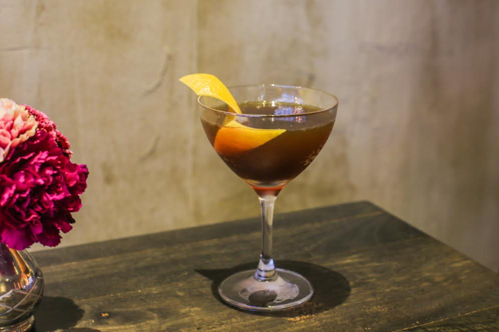 Kat & Theo's Mariposa cocktail.