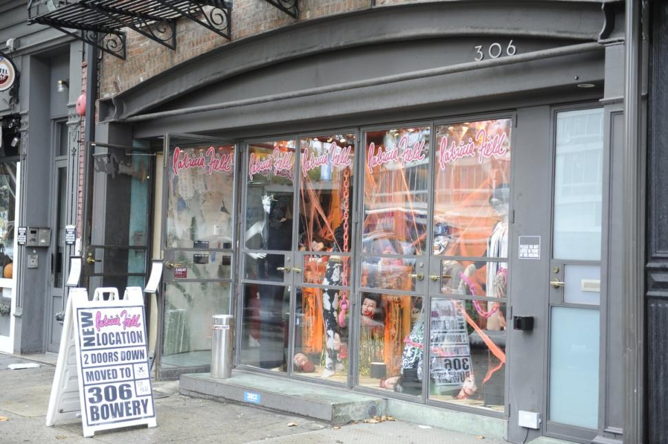 Patricia Field's store on Bowery